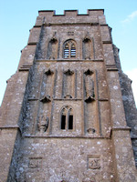 St. Michael's tower atop the Tor, Glastonbury